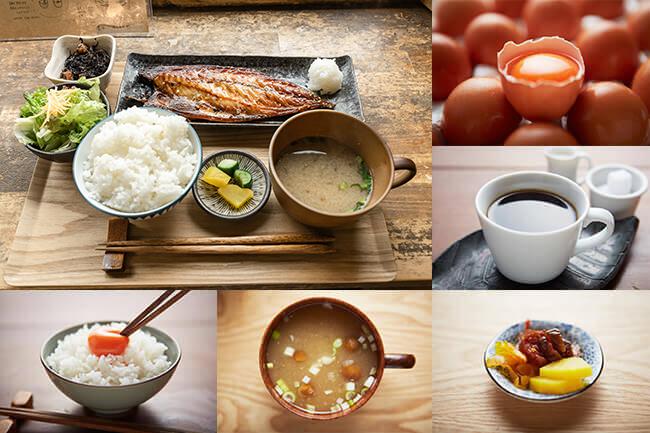 極楽寺 稲村ヶ崎 朝ごはん 卵かけご飯